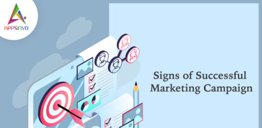 Signs of Successful Marketing Campaign-byappsinvo