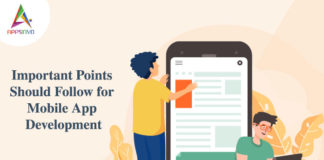Important Points Should Follow for Mobile App Development-byappsinvo
