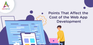 Points That Affect the Cost of the Web App Development-byappsinvo