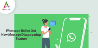 Whatsapp Rolled Out New Message Disappearing Feature-byappsinvo.